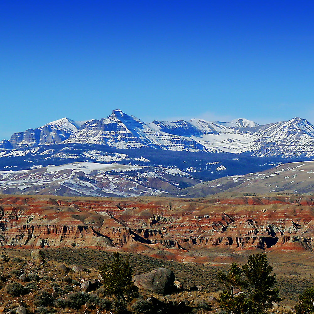 Absaroka Mountains Wind River Country