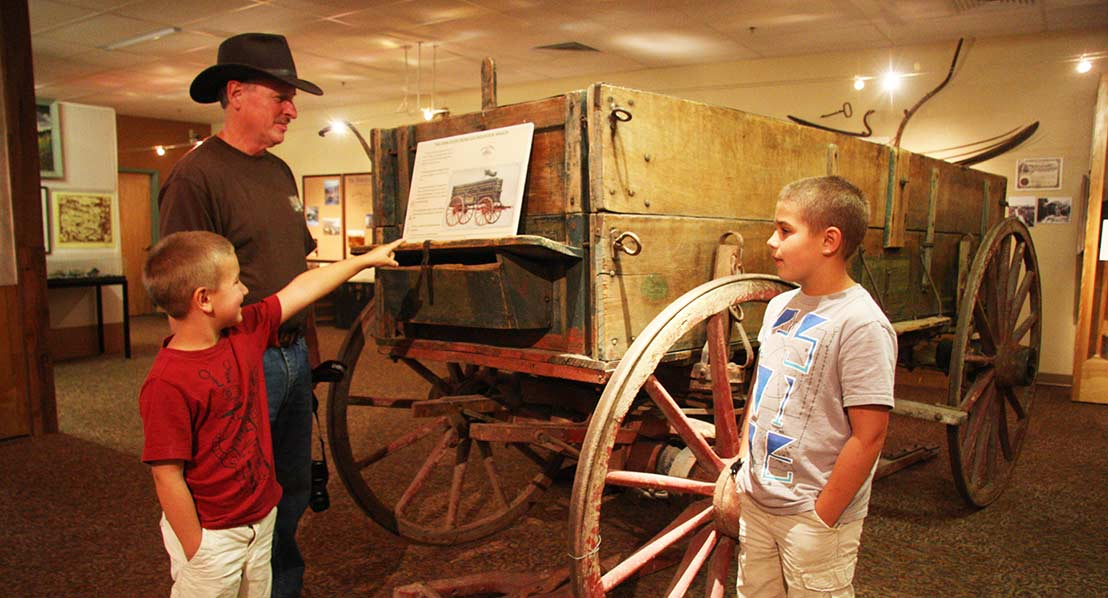 Learn about the Oregon Trail at local museums. Photo: Randy Wise