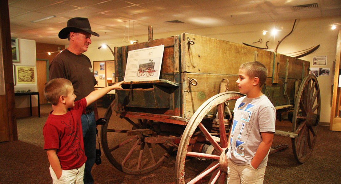 Fremont County Pioneer Museum, Lander. Photo: Randy Wise