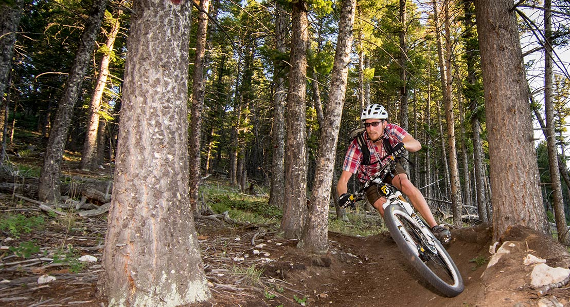 Mountain biking trails outside Lander. Photo: Jared Steinman