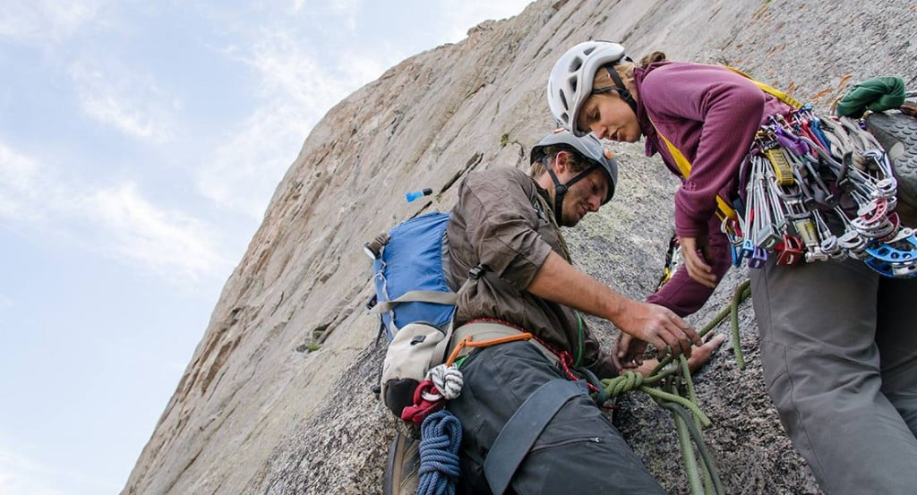 Rock Climbing at Wild Iris. Photo: Jared Steinman