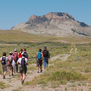 Red Desert Hike Photo: Jess Rice