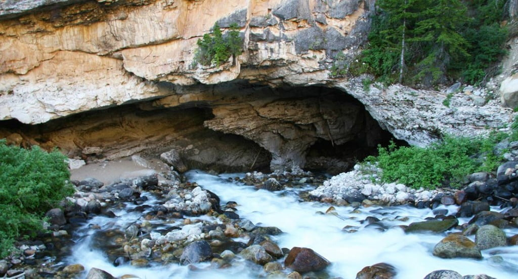 The Sinks at Sinks Canyon State Park. Photo: Randy Wise