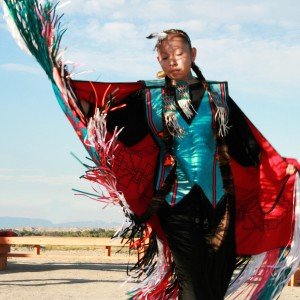 Dancer at Northern Arapaho Experience