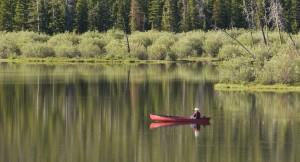 Paddle Louis Lake, photo by Scott Copeland