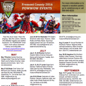 Powwow schedule preview