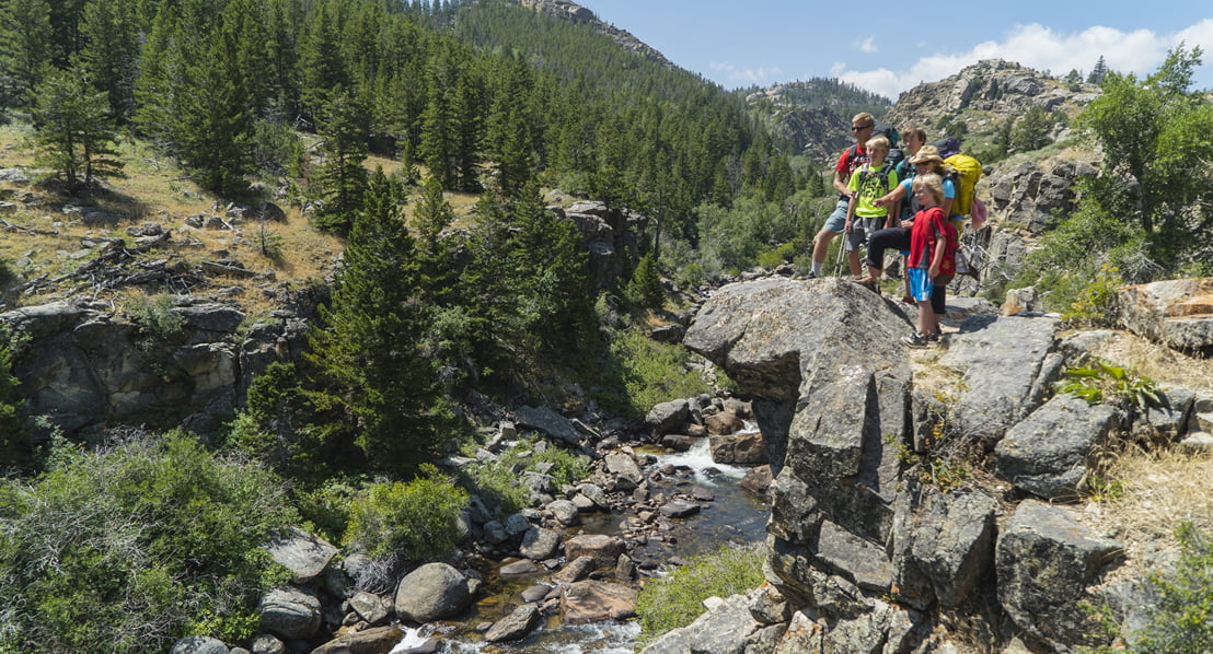 Hiking the Popo Falls Trail. Photo: Kyle Duba