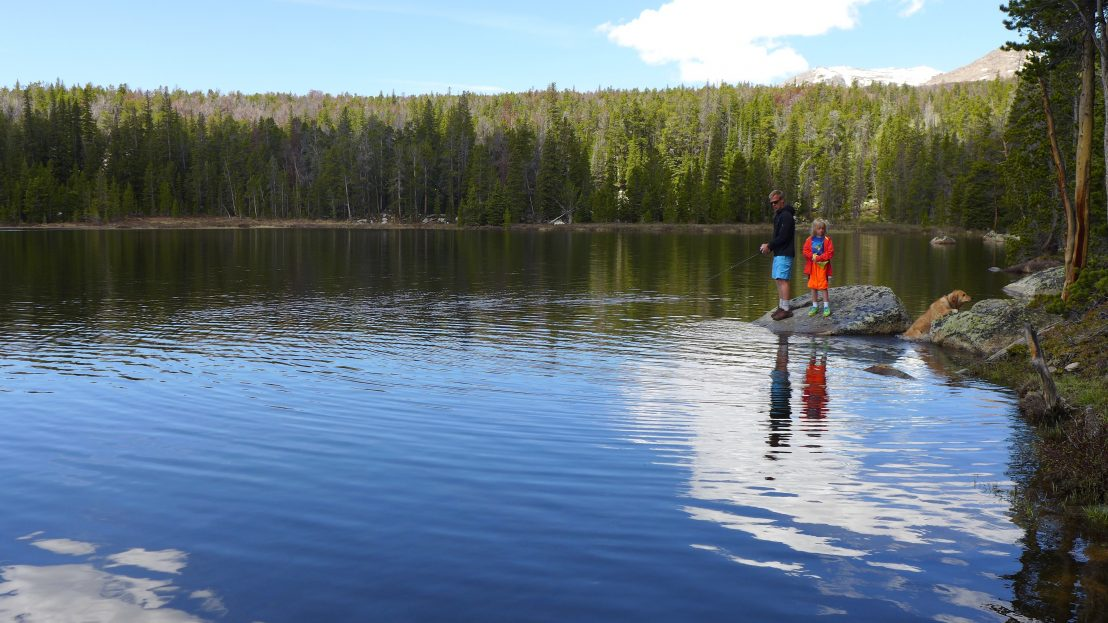 Lower Silas Lake is a great destination for families with young children or beginning hikers or anglers. (Photo by Shelli Johnson, YourEpicLife.com)