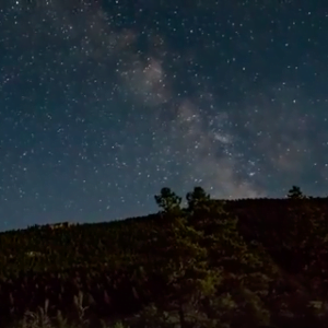 Watch our night-sky time lapse from Sinks Canyon State Park here.