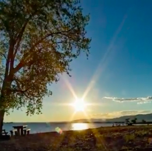 Watch a timelapse of a star-gazing experience at Boysen Reservoir here.