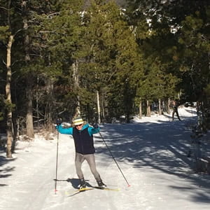 Beaver Creek or Bust, with Cross Country Skis in Tow