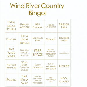 Wind River Country Bingo