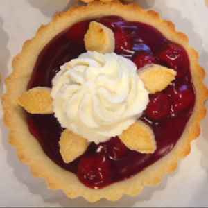 Cherry tart from Lander Bake Shop