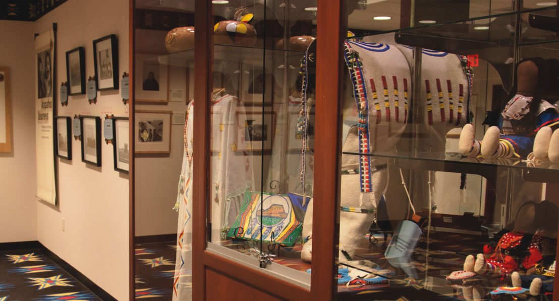 Exhibits at Wind River Casino Arapaho Experience Room