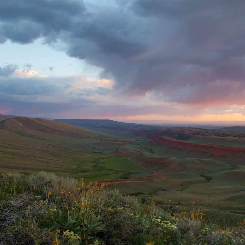 Red Canyon Sunrise
