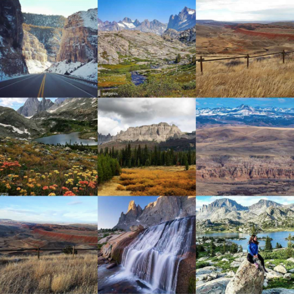 Top Wind River Country instagram photos from 2017