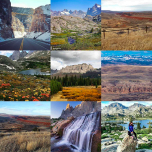 Top 9 photos from Wind River Country Instagram account