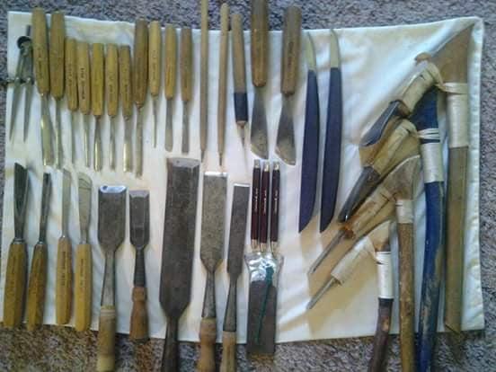 The tools of Haida art