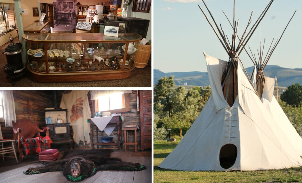Museum of the American West and the Pioneer Museum in Lander Wyoming