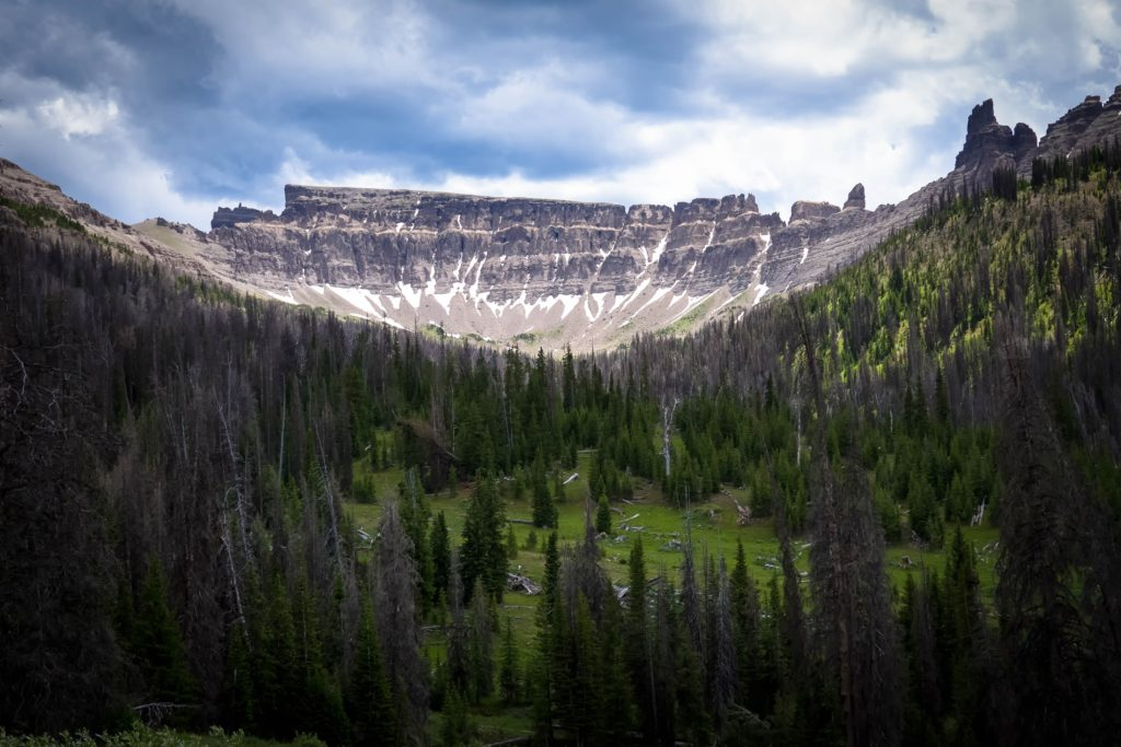 Pinaccles on Togwotee Pass near Dubois and Yellowstone National Park.