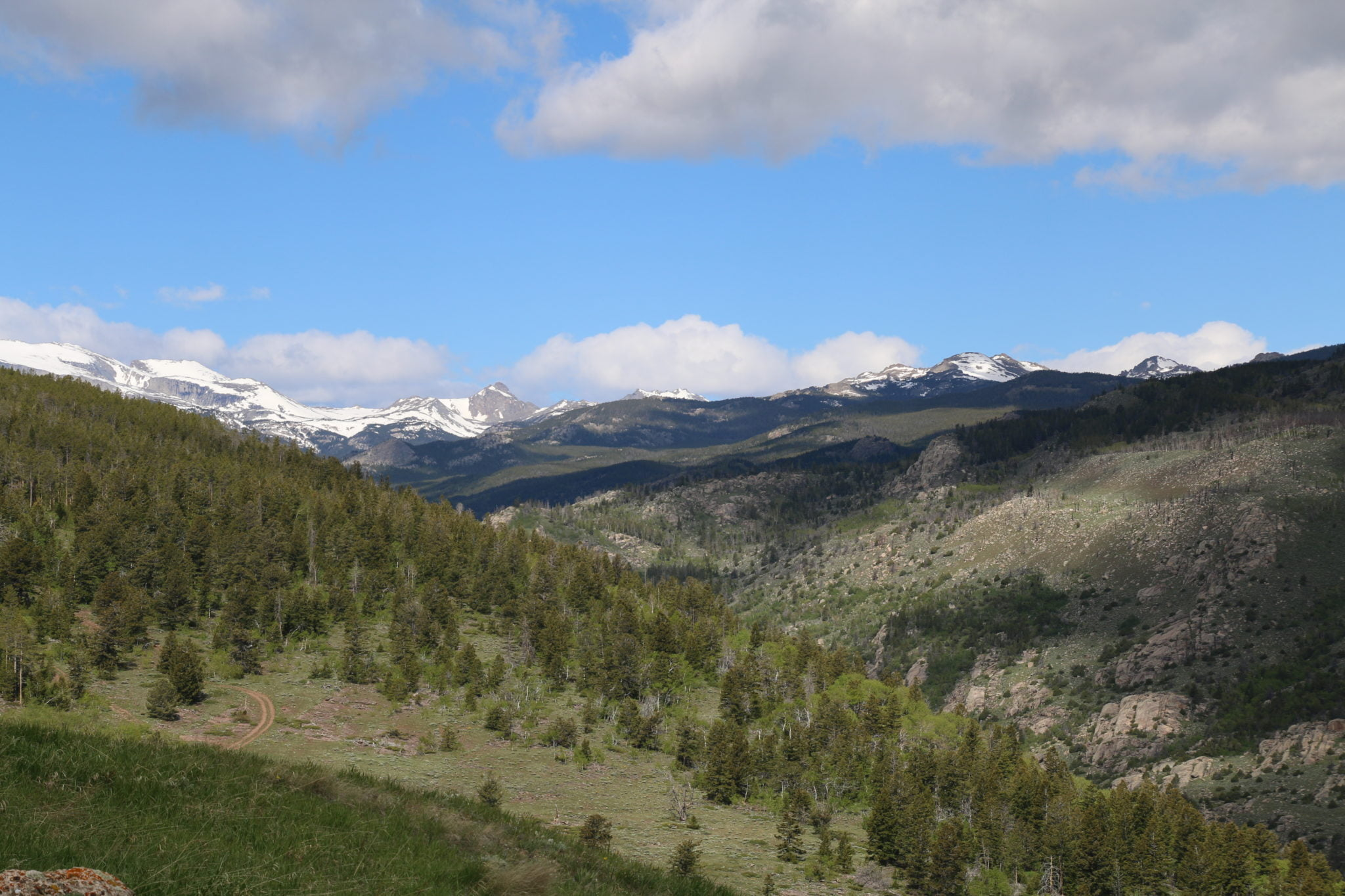 The Wind River Mountain Range