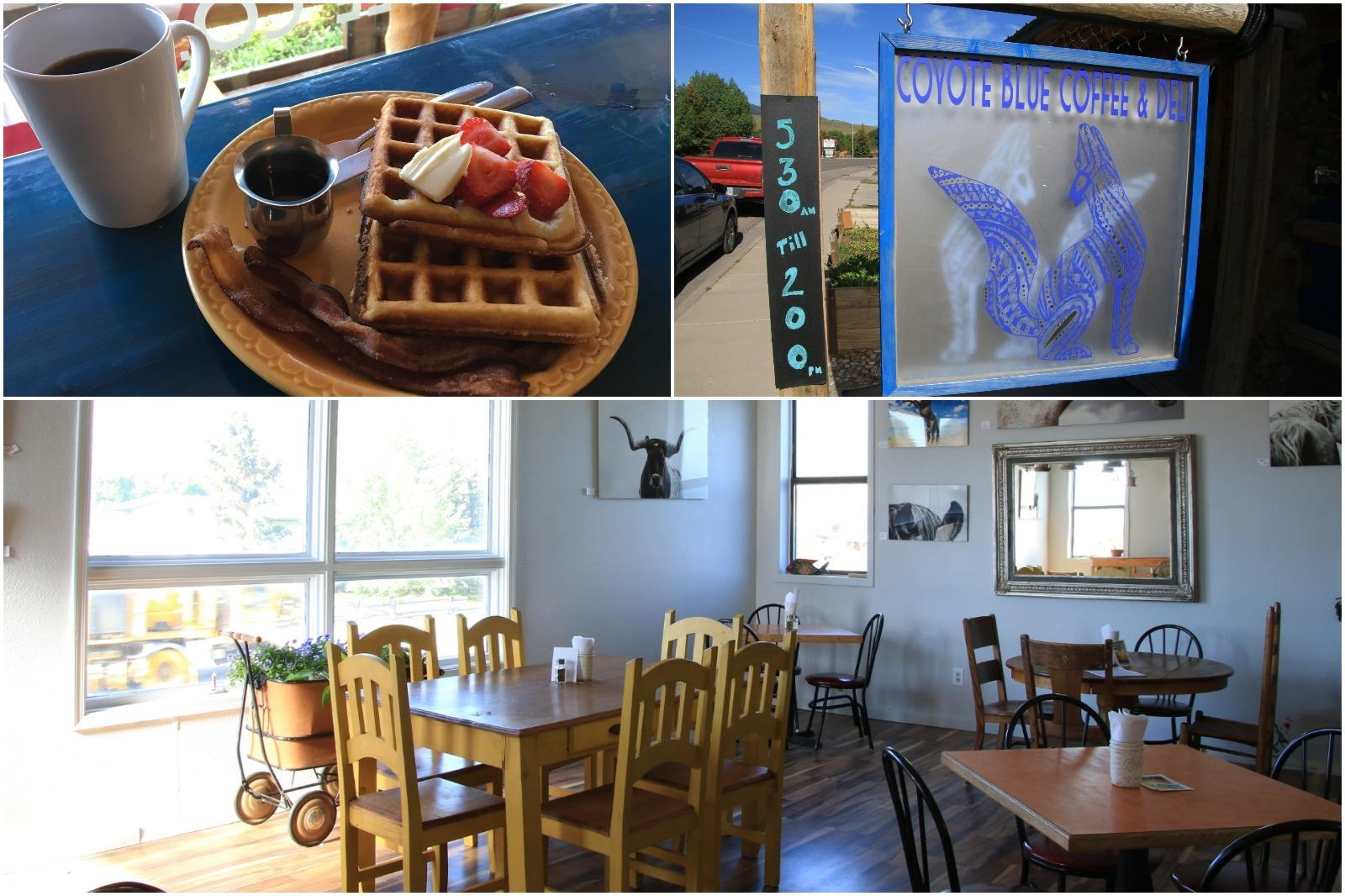 Photos of food and the atmosphere in Coyote Blue Coffee & Deli