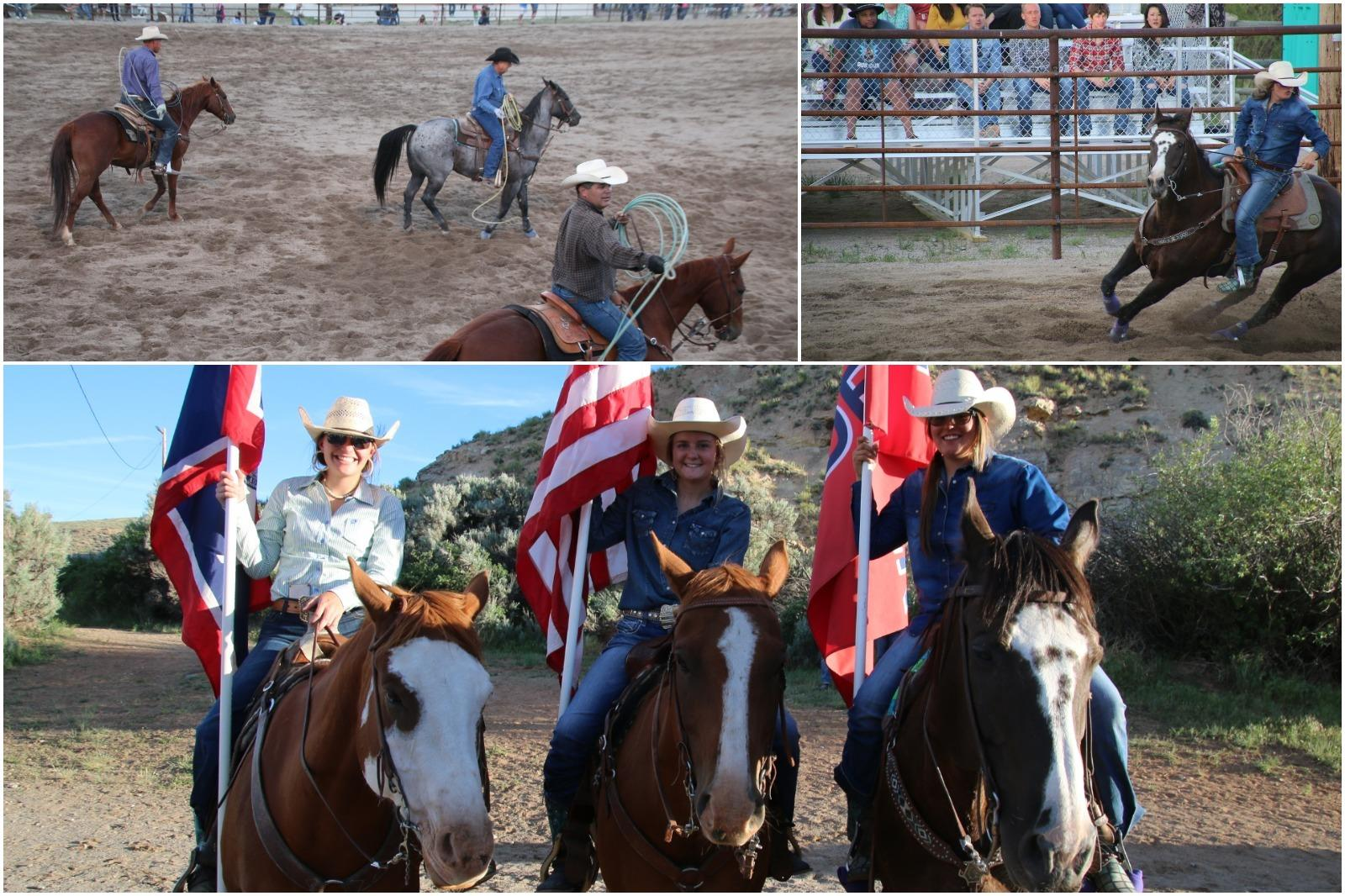 scenes from rodeos in Wind River Country, Wyoming