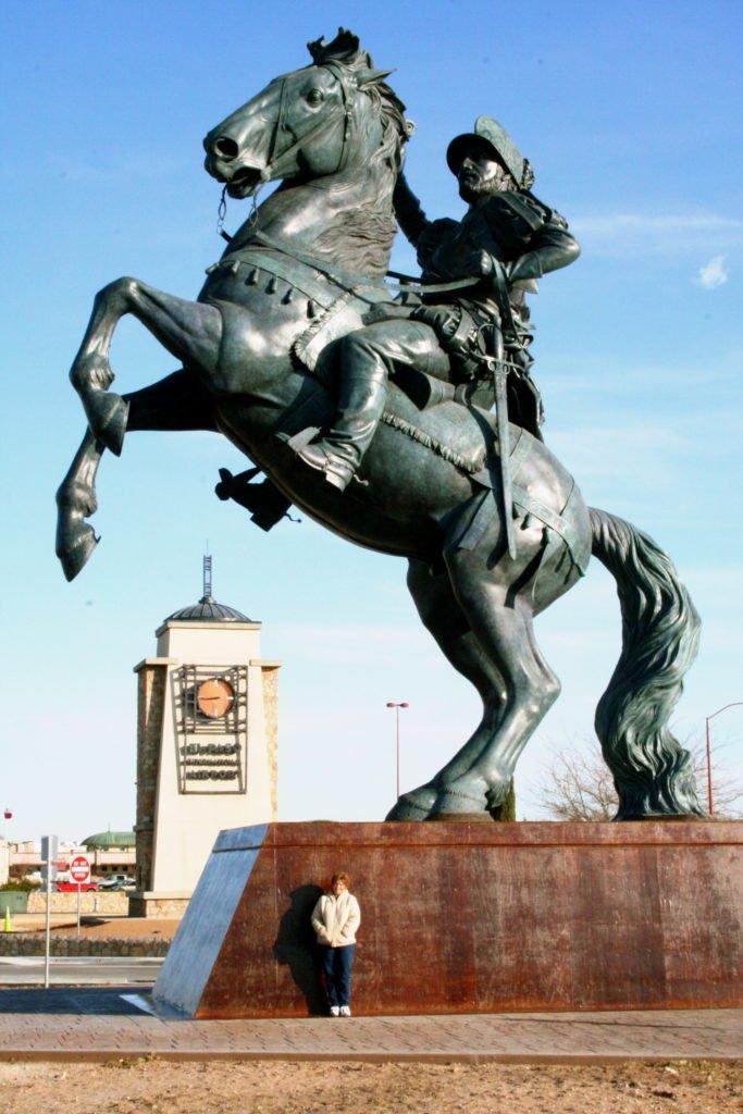 Bronze statue assembled in Lander at Eagle Bronze