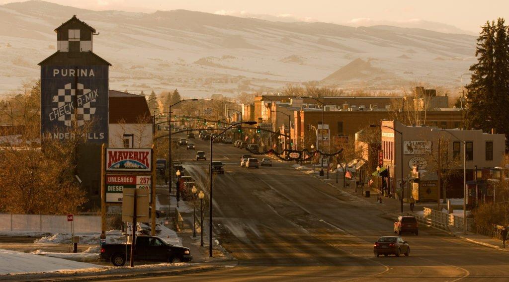 Lander's Main Street