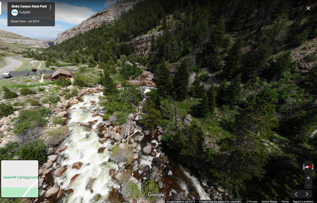 Sinks Canyon State Park Virtual Tours