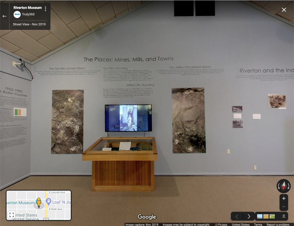 Riverton Museum exhibit on virtual road trip in Wyoming
